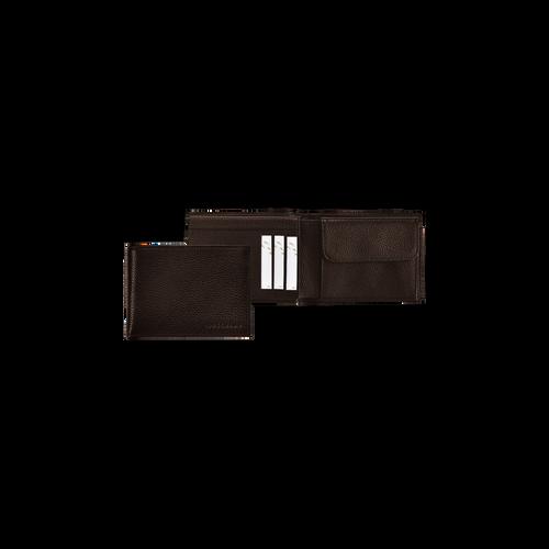View 1 of Small wallet, Mocha, hi-res
