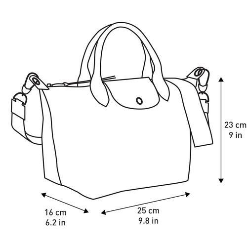Tas met handgreep aan de bovenkant, Zwart/wit, hi-res - View 4 of 4
