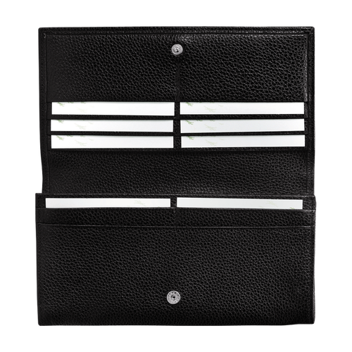 Lange continentale portemonnee, Zwart, hi-res - View 3 of 3