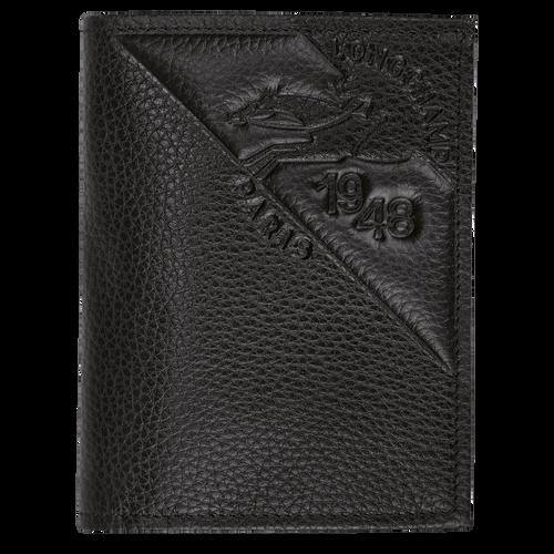 Porte-cartes, Noir/Ebène - Vue 1 de 2 -