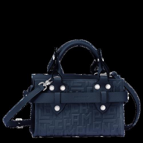 Top handle bag S, Navy, hi-res - View 1 of 3