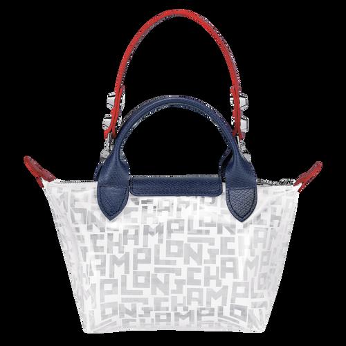 Mini top-handle bag, White, hi-res - View 3 of 3