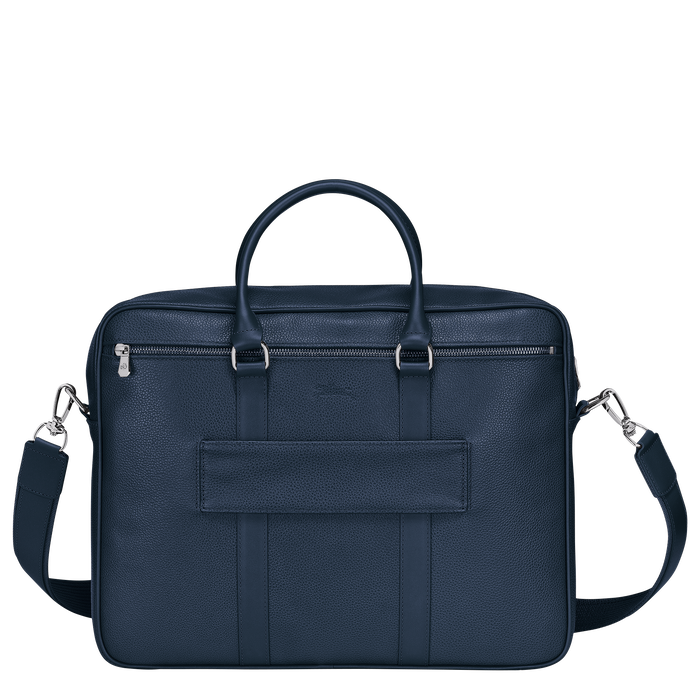 Briefcase M, Navy - View 3 of  3 - zoom in
