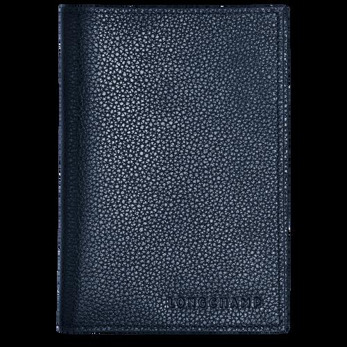 Passport cover, Navy - View 1 of 2 -