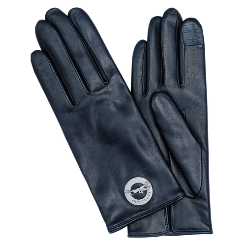 View 1 of Women's gloves, 001 Black, hi-res
