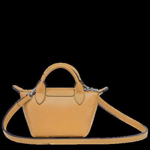 Tas met handgreep aan de bovenkant XS, Honing - Weergave 3 van  6 -