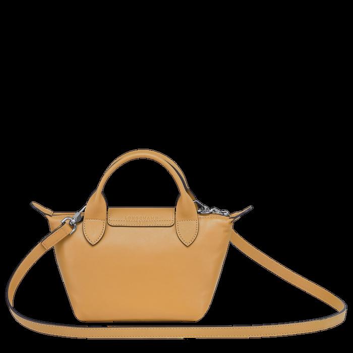Tas met handgreep aan de bovenkant XS, Honing - Weergave 3 van  6 - Meer inzoomen.