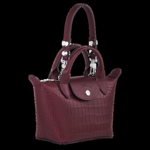 Mini top-handle bag, Brandy, hi-res - View 2 of 3