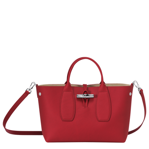Top handle bag M, Red, hi-res - View 2 of 5