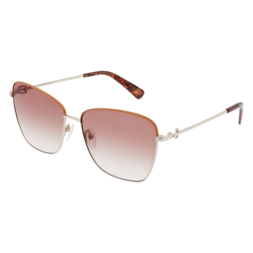 Spring-Summer 2021 Collection Sunglasses, Gold/Cappuccino