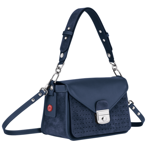 Hobo bag, Pilot blue, hi-res - View 2 of 3