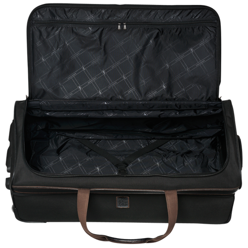 Wheeled duffle bag, Black, hi-res - View 3 of 3