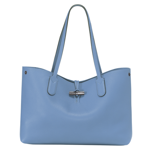 Essential Tote bag M, Blue, hi-res - View 1 of 3