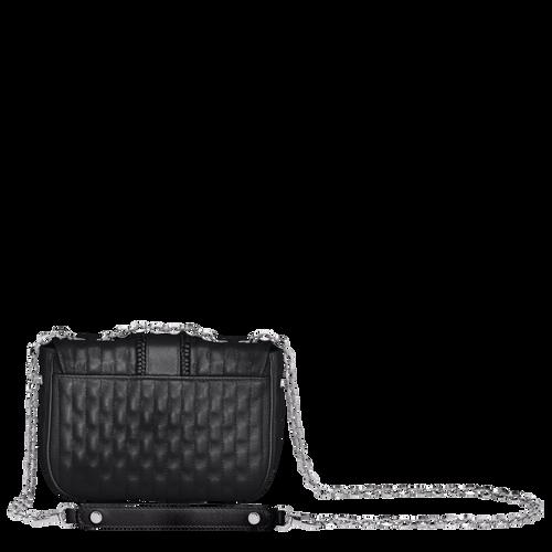 Crossbody bag XS, Black/Ebony - View 3 of  3 -