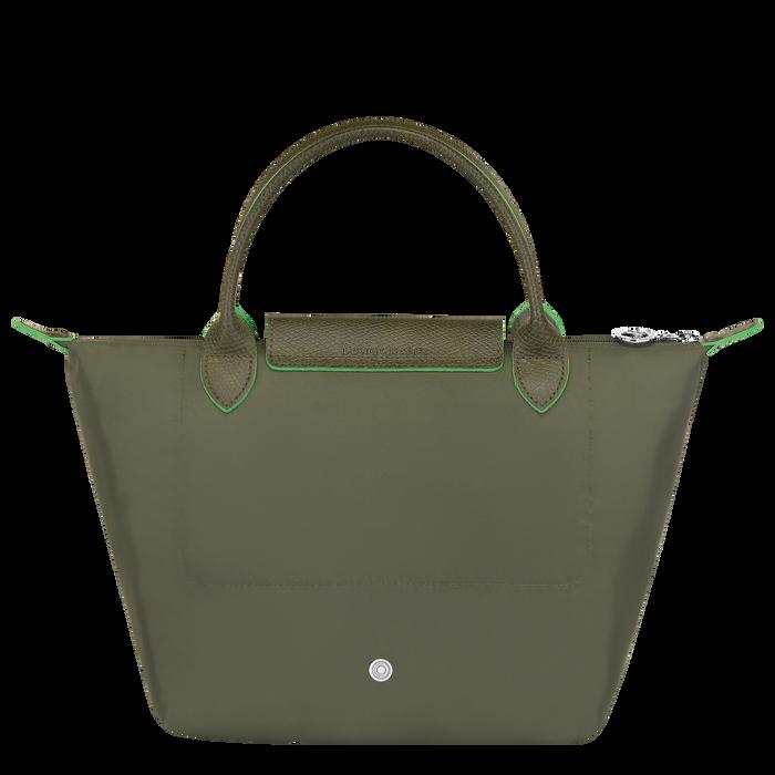 Top handle bag S, Longchamp Green - View 3 of 5 - zoom in