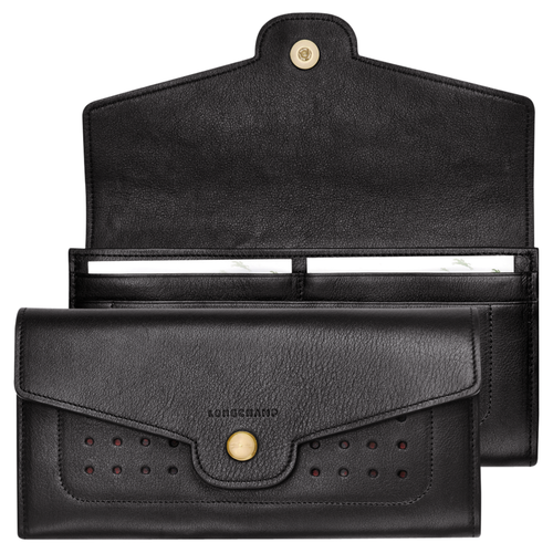 Continental wallet, 001 Black, hi-res