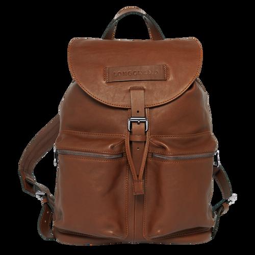 Backpack L Longchamp 3D Cognac (20015773504) | Longchamp EN