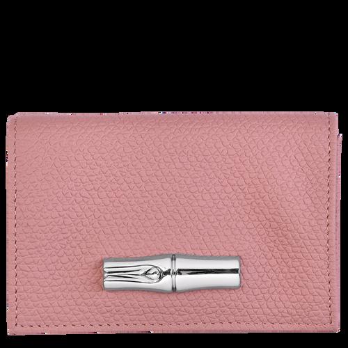 Brieftasche im Kompaktformat, Altrosa - Ansicht 1 von 2 -