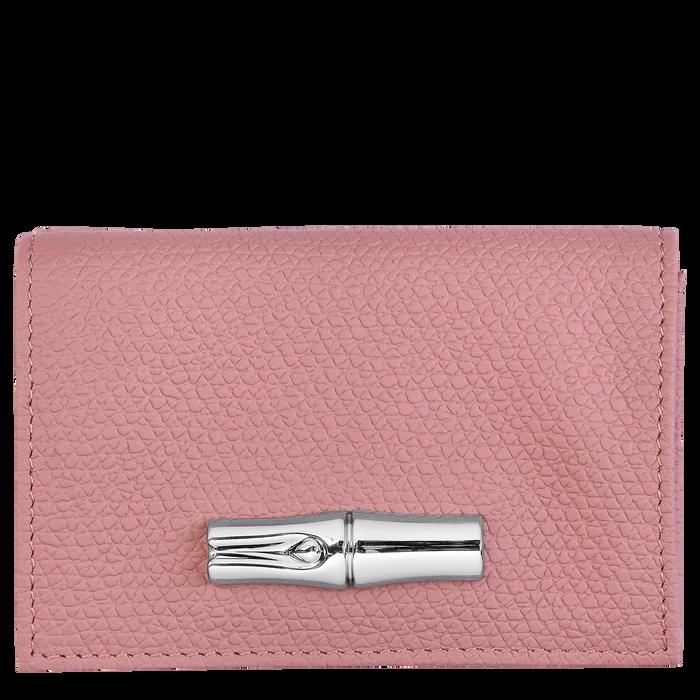 Brieftasche im Kompaktformat, Altrosa - Ansicht 1 von 2 - Zoom vergrößern