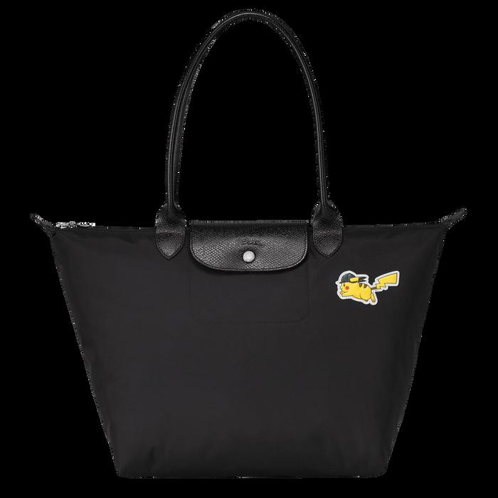 Shoulder bag L, Black/Ebony - View 1 of  3 - zoom in
