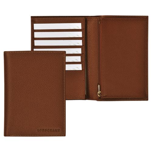 Brieftaschen, 504 Cognac, hi-res