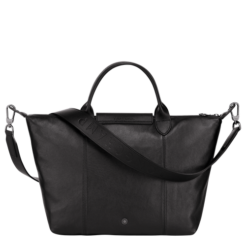 Top handle bag M, Black - View 3 of  5 -