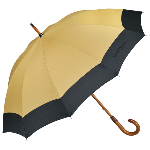 Walking stick umbrella, Beige/black, hi-res - View 1 of 1