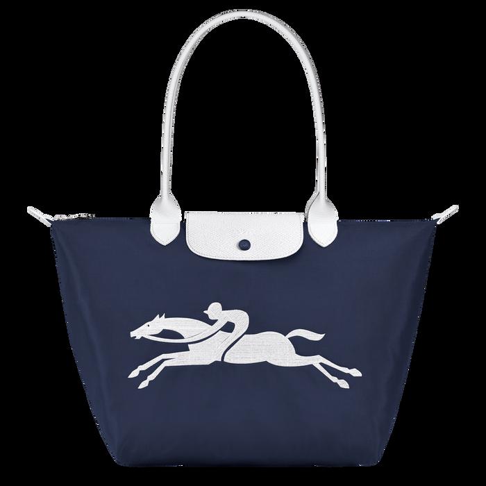 Online Exclusive Le Pliage Club Shoulder bag L, Navy