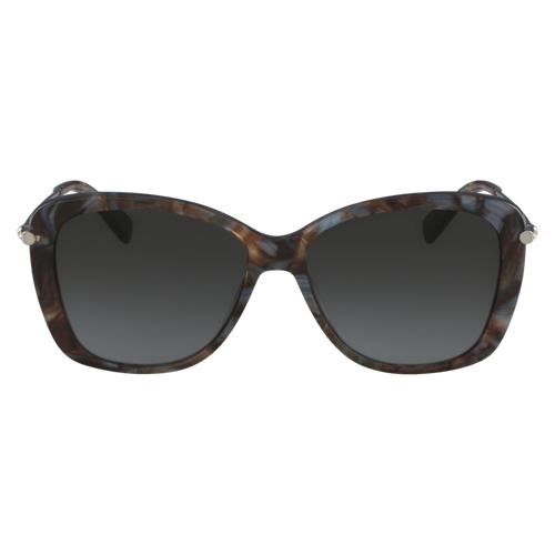 Sunglasses, Marble Brown Azure, hi-res - View 1 of 2