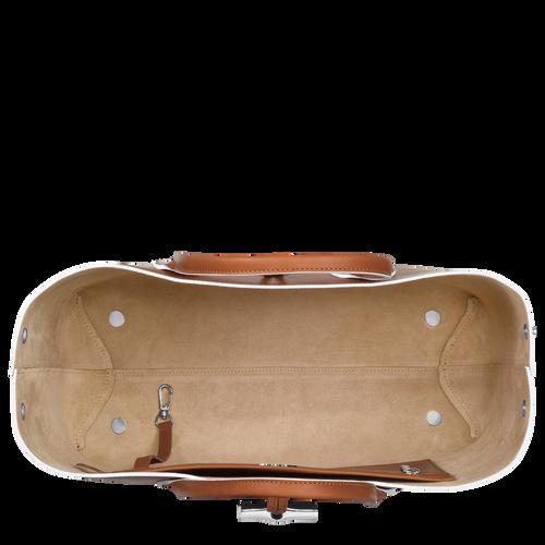 Top handle bag L, Cognac, hi-res - View 5 of 5