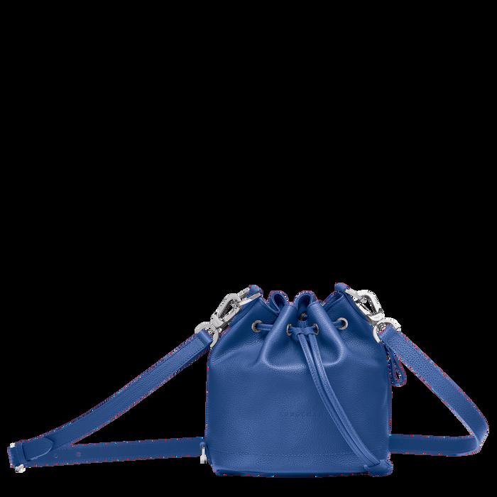 Le Foulonné Bucket bag S, Sapphire