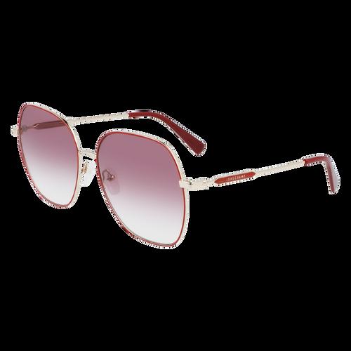 Glasses Sunglasses, Burgundy