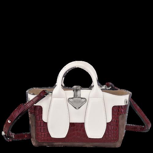 Top handle bag XS, Ebony - View 4 of 5 -