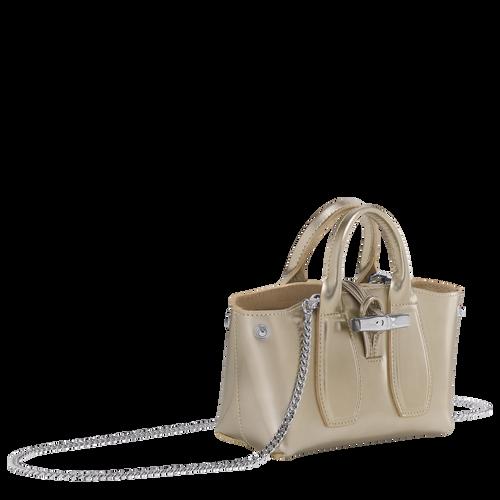 Top handle bag S, Platinum, hi-res - View 3 of 4