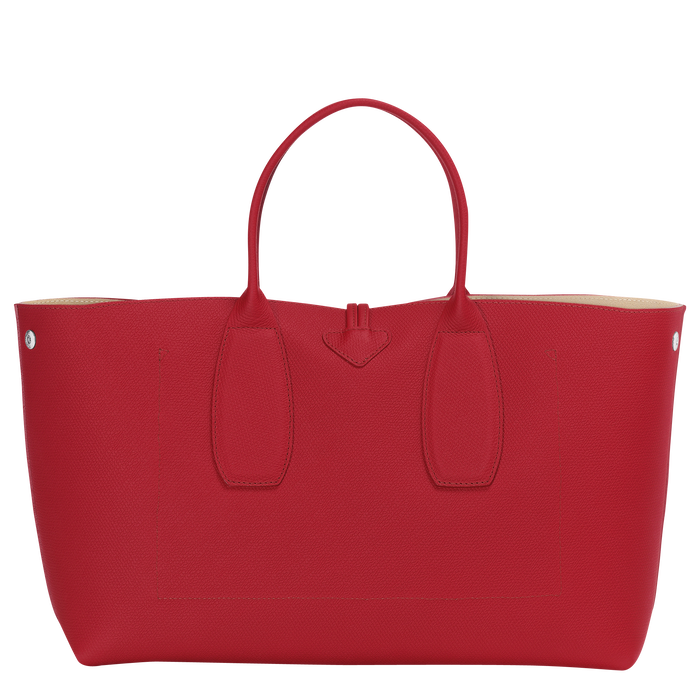 Top handle bag L, Red - View 4 of  5 - zoom in