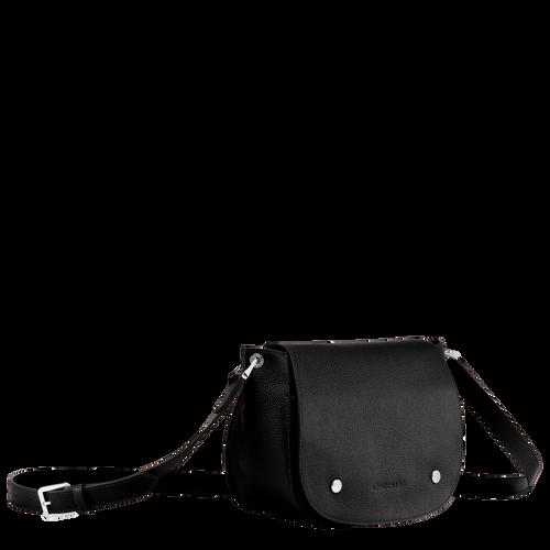 Sac porté travers Le Foulonné Noir (L1334021047) | Longchamp FR
