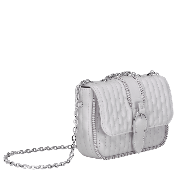 Crossbody bag XS, Pearl, hi-res - View 2 of 3