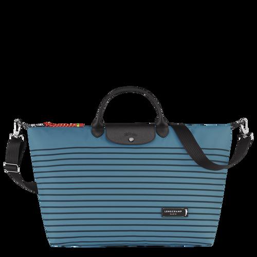 Green District Travel bag L, Pilot blue