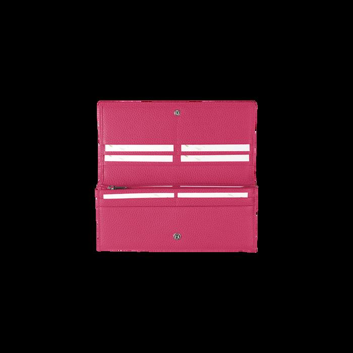 Lange Geldbörse mit Überschlag, Pink, hi-res - View 3 of 3