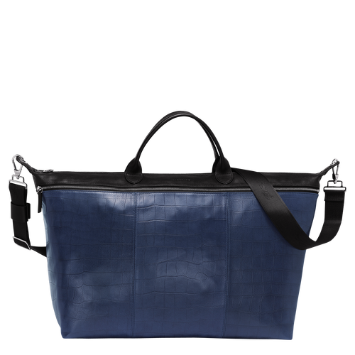 Travel bag L, 731 Black/Blue, hi-res