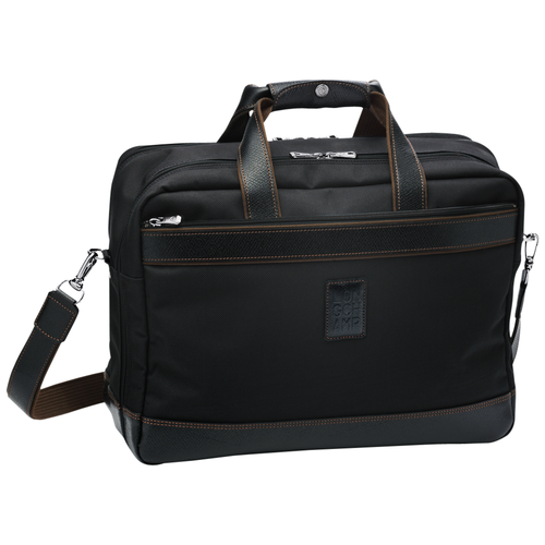 Briefcase L, Black, hi-res - View 1 of 1