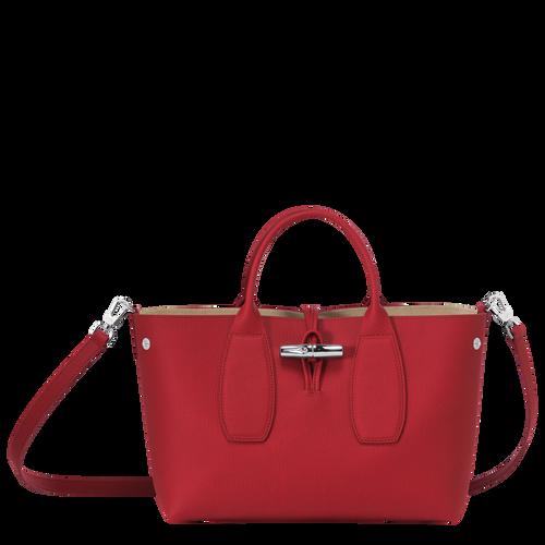 View 2 of Top handle bag M, Red, hi-res