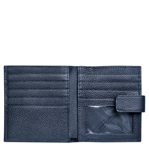 Portefeuille compact, 556 Navy, hi-res