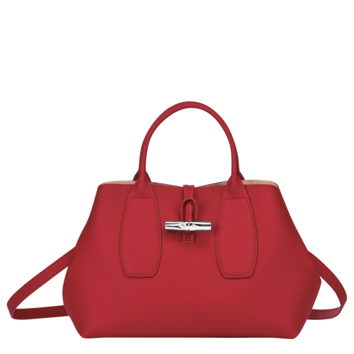 View 1 of Top handle bag M, Red, hi-res