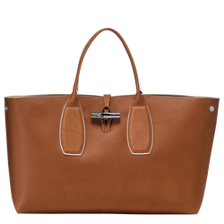 Top handle bag L, 504 Cognac, hi-res