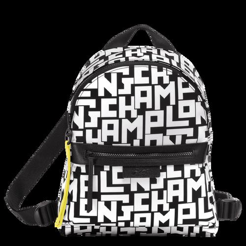 Le Pliage LGP Backpack S, Black/White