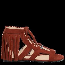 Flat sandals, 504 Cognac, hi-res