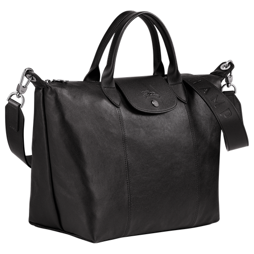 Top handle bag M, Black - View 2 of  5 -