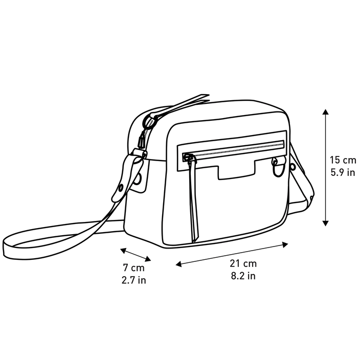 Crossbody bag, Black - View 4 of  4 - zoom in