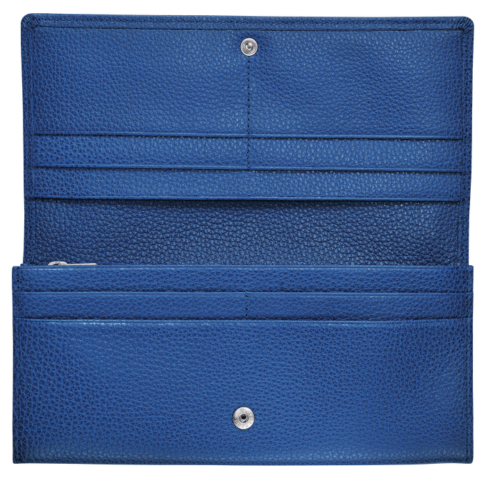 Long continental wallet, Sapphire - View 2 of  2 - zoom in